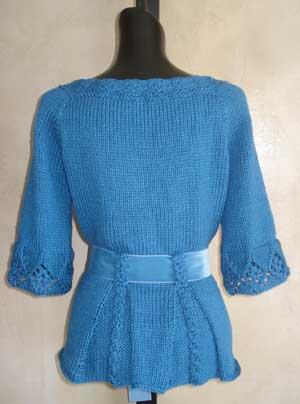 cotton lace cardigan knitting pattern
