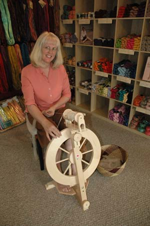Foothills Yarn and Fiber Spinning Photo