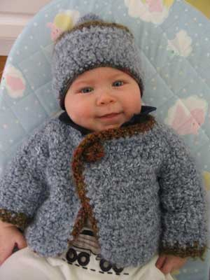 Ravelry: 465 Cowboy or Cowgirl Baby Hat pattern by Sandy Powers