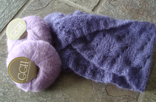 Free Knitting Pattern Mohair Cowl : Mobius Cowl Yarn Giveaway! - Knitting Patterns Blog from SweaterBabe.com