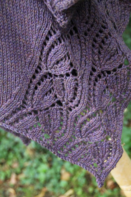 Lace Cardigan Knitting Pattern - A finished version from France ...