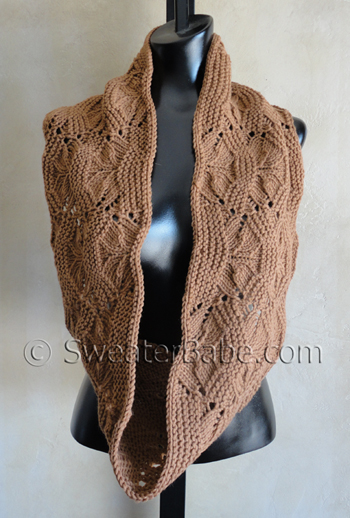 Upcoming Knitting Pattern Luxe Infinity Scarf Knitting Patterns