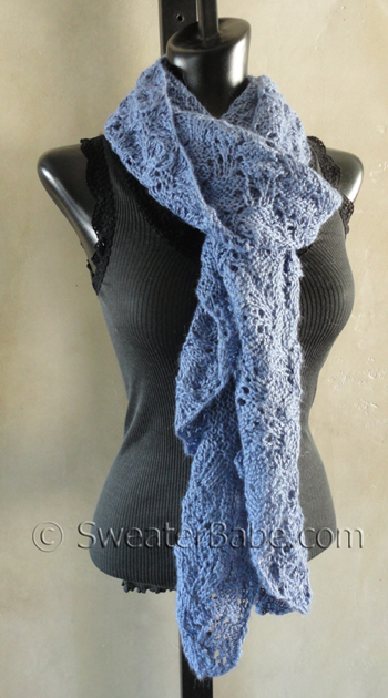 Dream Come True Scarf And Why Blocking Your Knitting Matters