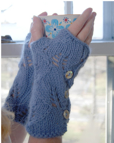 New Free Knitting Pattern Knit Up Some Mitts Fast Knitting