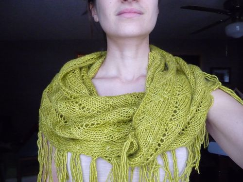 finished knitting project gallery example