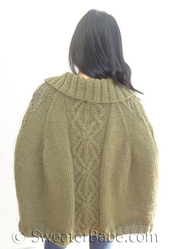 The Covetable Cabled Cape And More Upcoming Patterns Knitting