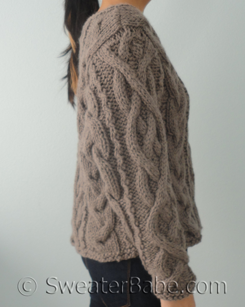 Free Crochet Pattern For Cabled Sweater : NEW Knitting Patterns coming soon! - Knitting Patterns ...