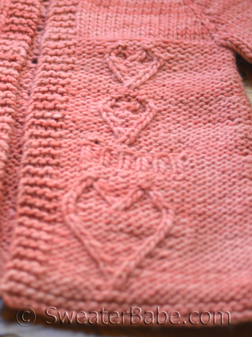 Big Heart Knitting Pattern : Knitters Wear Their Hearts on Their Sleeves. . . and ...