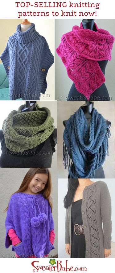 Whats Hot To Knit Now Knitting Patterns Blog From Sweaterbabe