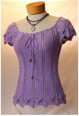 Knitting Pattern Design : Pattern Pick: Stephanie Tee by White Lies Designs ...