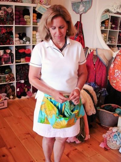 Koala Caddie Knitting Bag Apron