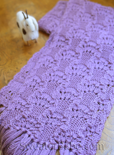 Luscious Lace Scarf