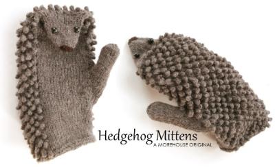Morehouse Farm Hedgehog Mittens