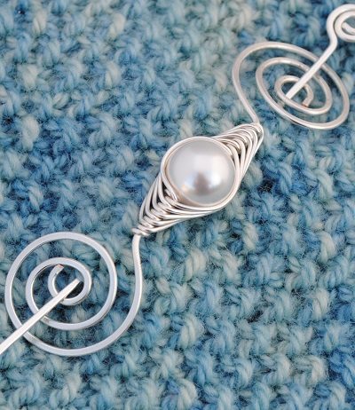 Pearl Shawl Pin