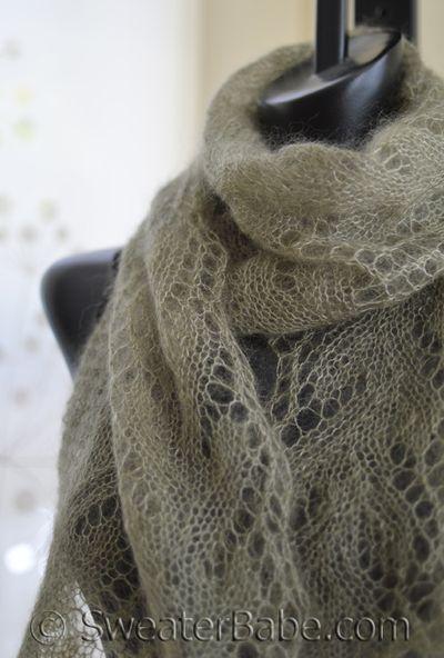 Free Pattern Pick Gossamer One Ball Lace Scarf Knitting Patterns