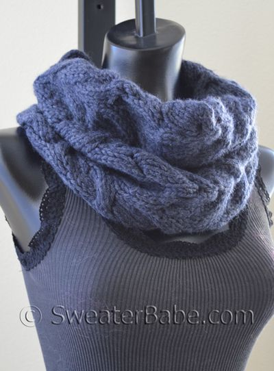 Luscious Cabled Cowl