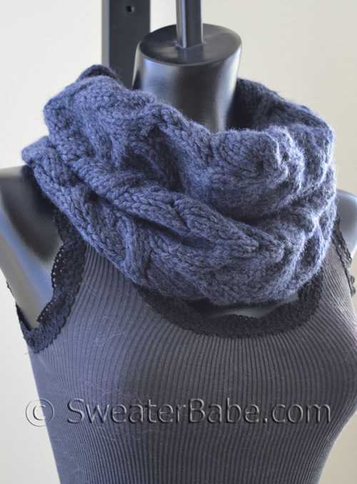 Free Pattern Pick Luscious Cabled Cowl By Sweaterbabe