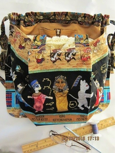 Knitting Bag Apron