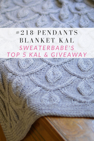 Pendants Blanket KAL