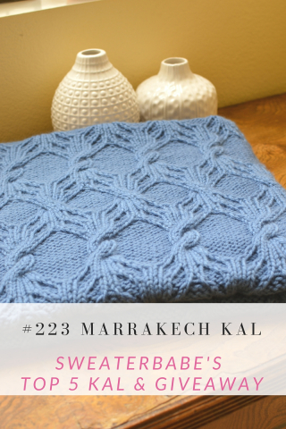 Marrakech Blanket KAL