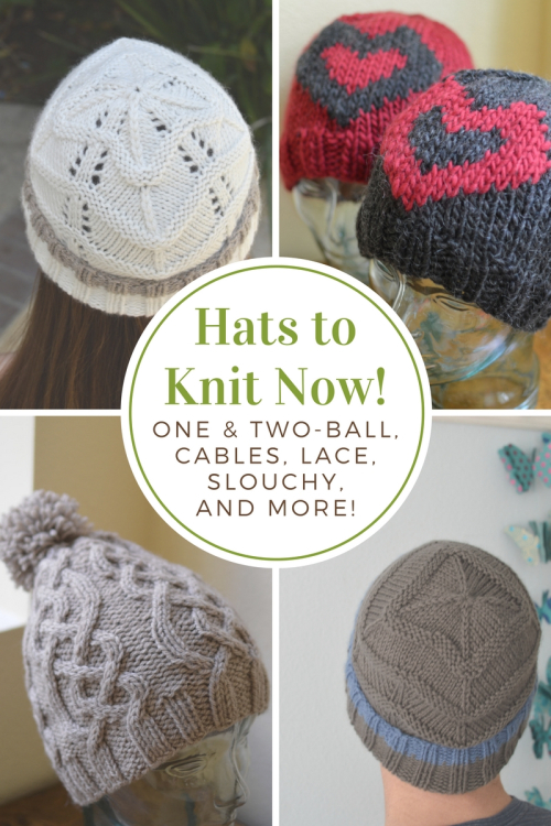 Hats to Knit Now!