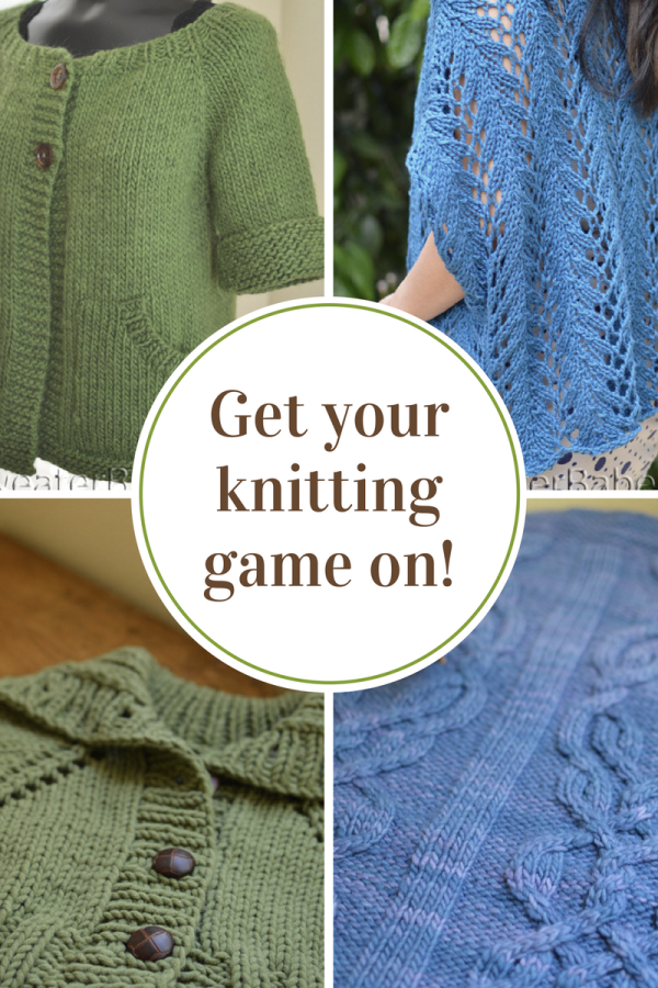 Get your knitting game on!