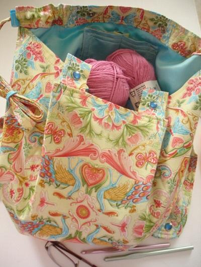 Knitting Bag Apron