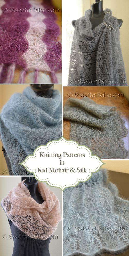 Gorgeous Kid Mohair and Silk Knitting Patterns - Knitting Patterns ...
