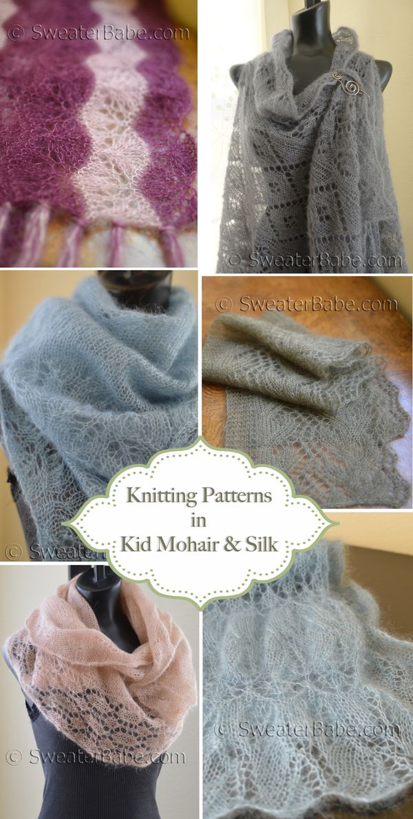 Gorgeous Kid Mohair And Silk Knitting Patterns Knitting