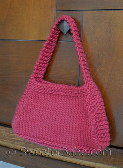 Hip Knit Purse