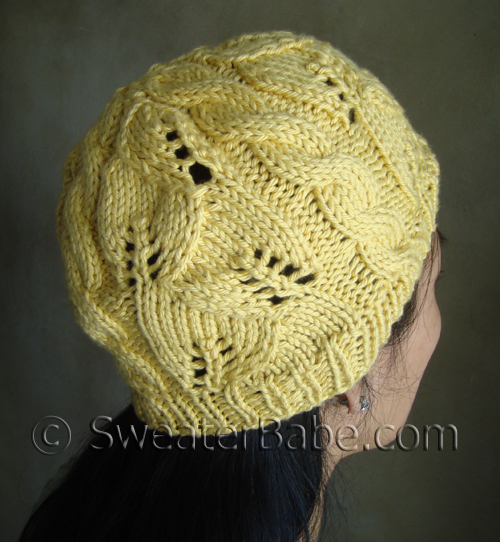 FREE Pattern Pick: Breezy Lace and Cable Hat by SweaterBabe - Knitting Patter...