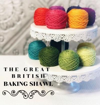 The Great British Baking Shawl