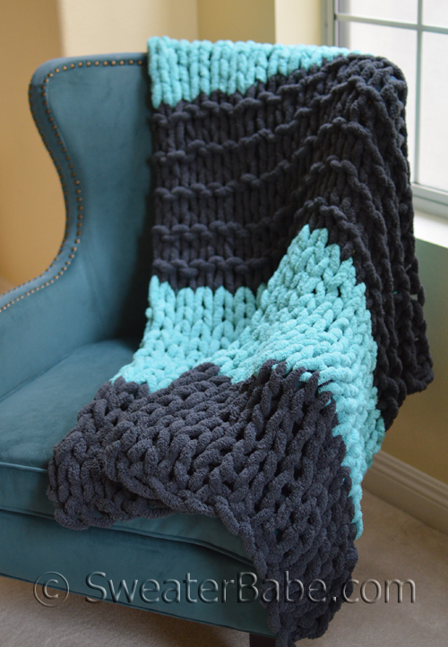 Table Knit Blanket