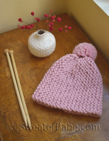 Beginner Knit Hat